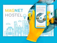 Website for MAGNET HOSTEL