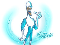 Frozone for Sketch Dailies