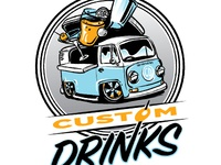 logo for custom VW bus bar