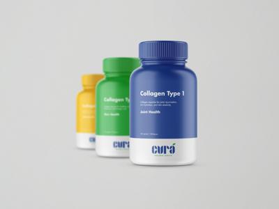 Cura Supplement Bottles