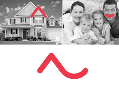 Bari Social Housing logo illustration identity icon design concept branding brand artwork art