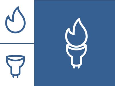 Energy + Gas Logo brand identity typography type wordmark visual minimal illustrator vector flat logotype logo illustration identity icon design concept branding brand artwork art