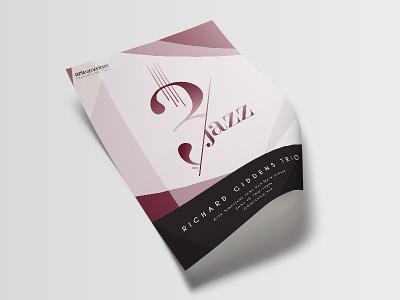 Jazz Poster geometric fresno illustrator reds design typography poster jazz