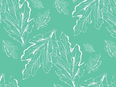 Leaves Repeat Pattern