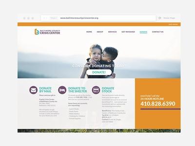 Crisis Center Website Prototype
