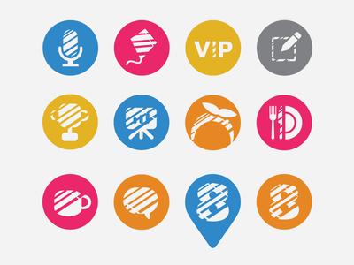 Barcoding Executive Forum Icons