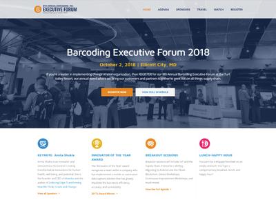 Barcoding Executive Forum Website
