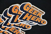 Supply Chain Geek Hero Stickers