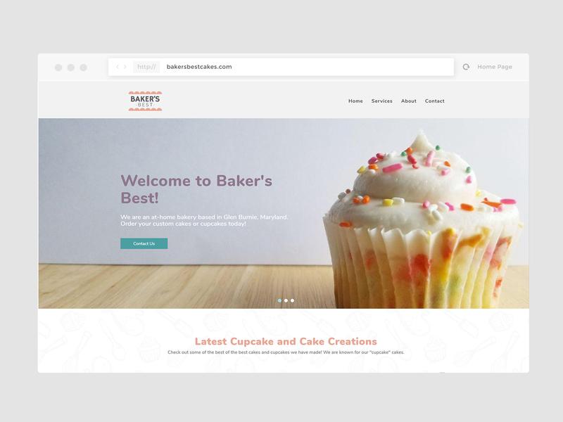 Baker's Best Cakes Website