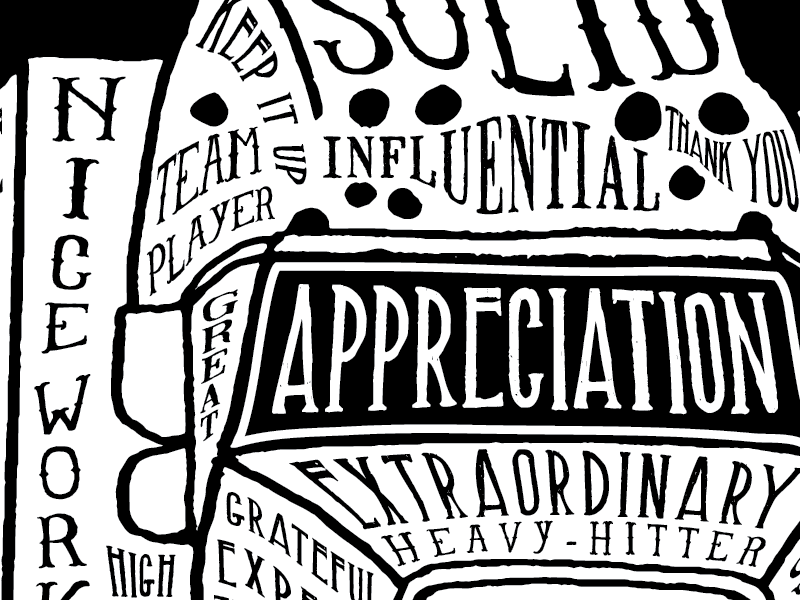 T-Shirt Graphic for Interstate Freight Driver Appreciation  grateful type trucker semi driver interstate typography lettering appreciation