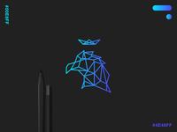 Modern gradient logo