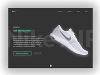 Daily UI #003 Landing Page (above the fold)