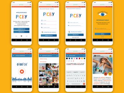 PICBY - mobile app for children