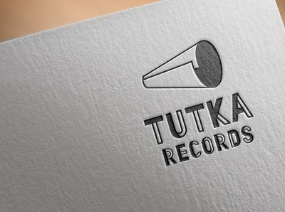 "Logo design for music label ""Tutka records"""