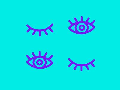 Eye yai yai line eye