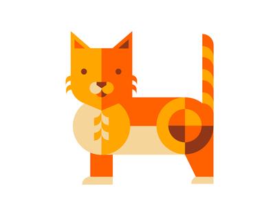 30 Days of Copycat: Beresnev geometric cat