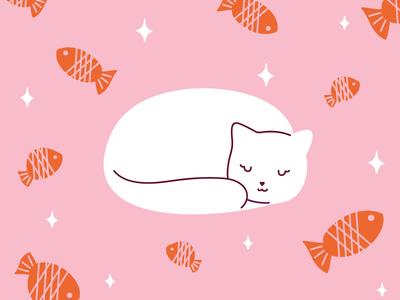 Copy Cat Project: Anna Hurley fish cute cat