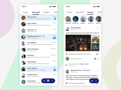 #Exploration - Social Media prototype exploration social media clean mobile app mobile iphone userinterface ui ios app mockup design adobexd