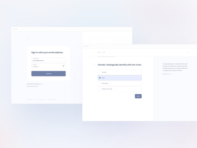 Food Delivery — Onboarding (Wireframes) interview test quiz food delivery onboarding login signin signup design application app minimal clean ux ui