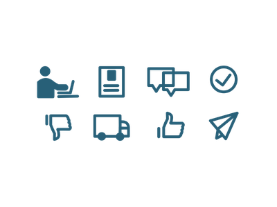 Customer Journey Icons icons