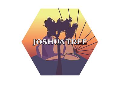Joshua Tree sticker design illustration graphicdesign joshua tree