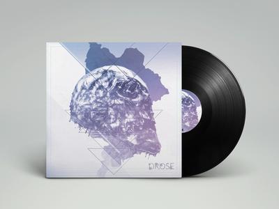 Album art - vinyl design mock up
