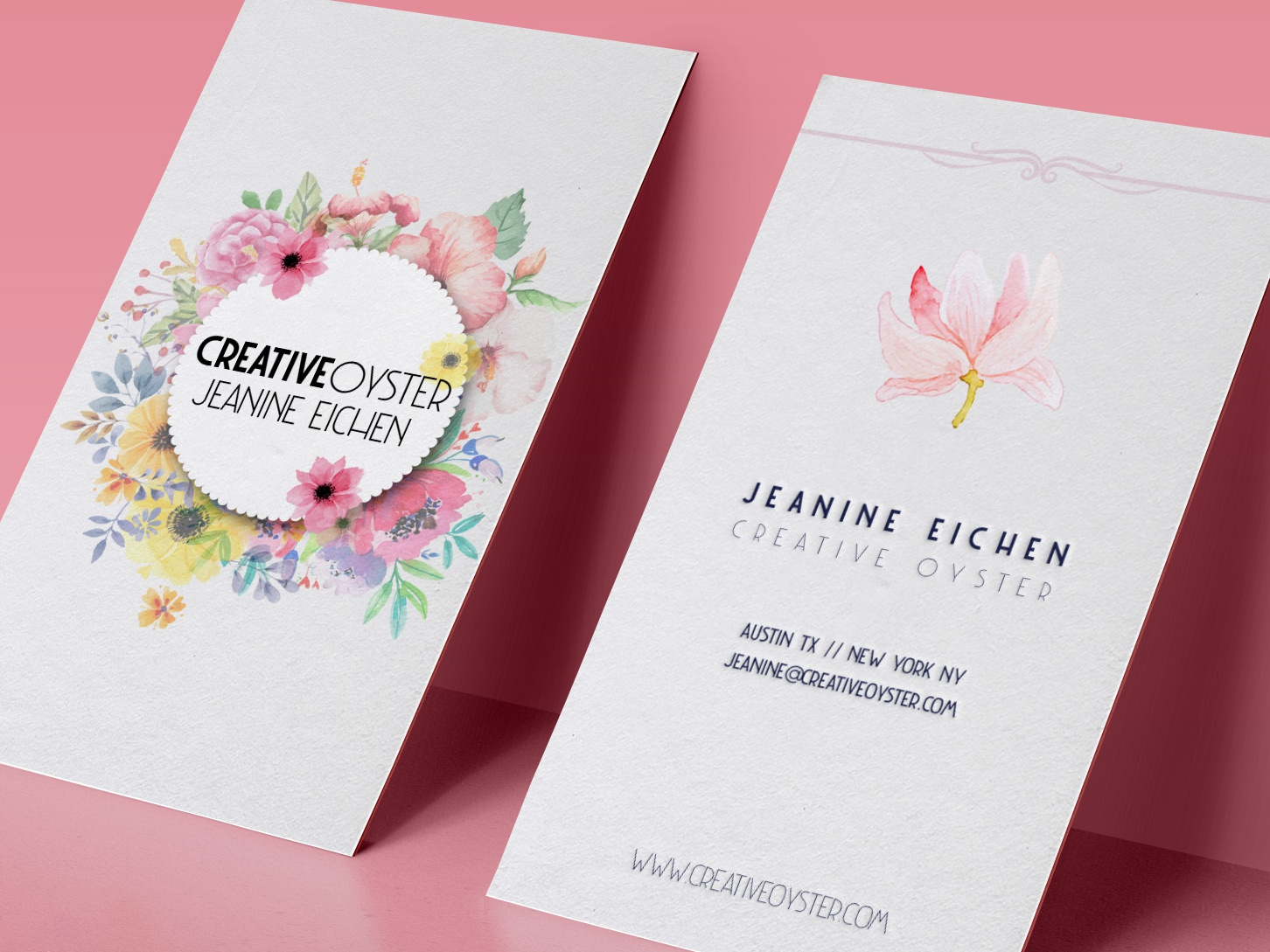 Creativeoyster business cards