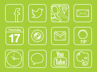 Outline App Icons