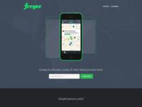 Forgeo Landing Page