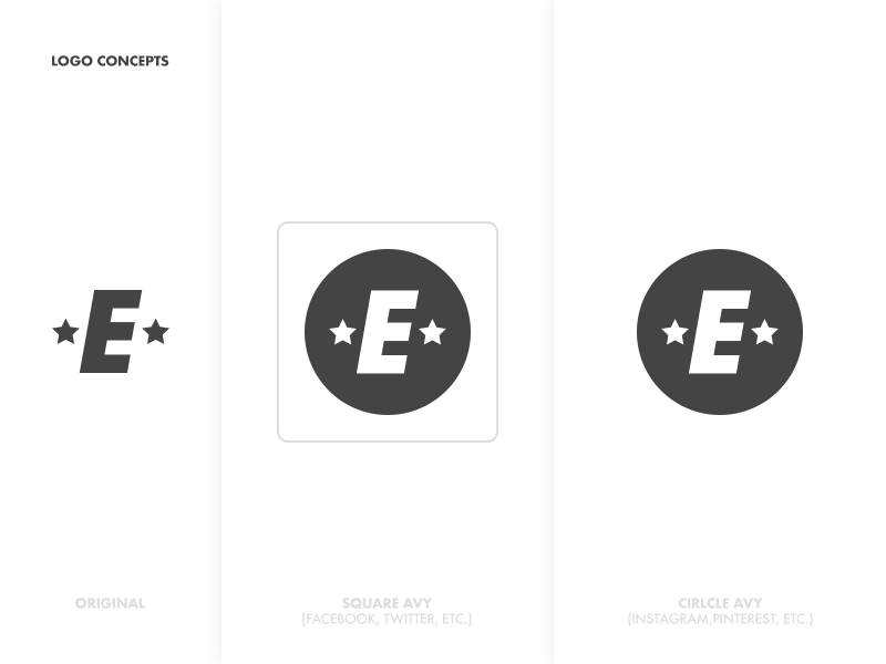 Elite Avy Concepts graphic icon type illustration logo avatar