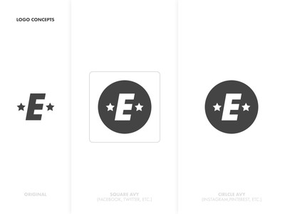 Elite Avy Concepts graphic icon type illustration logo avatar