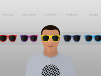 Avatar w/ Swappable Shades