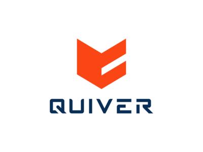 Quiver icon branding design type custom mark logomark logo design identity logotype typography branding logo