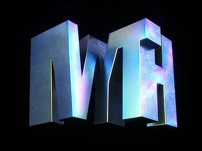 MYTH INCEPTION words 3d artist cinema 4d illustrated type c4d 3d calligraphy lettering illustration typography design