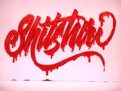Shitshow 3D Lettering