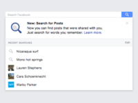 Facebook Post Search is here