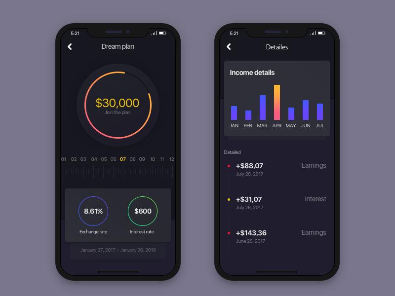 Financial app 1.0