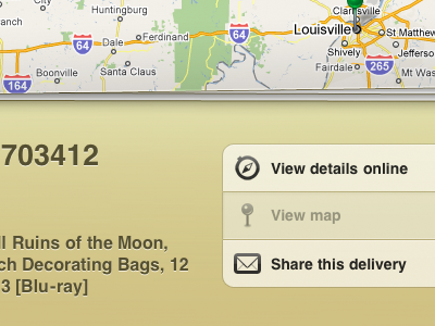 Delivery Status for iPad ipad delivery status deliveries