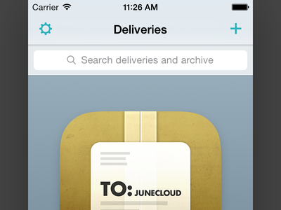 Delivery Status 5 Teaser ios iphone icon delivery status deliveries