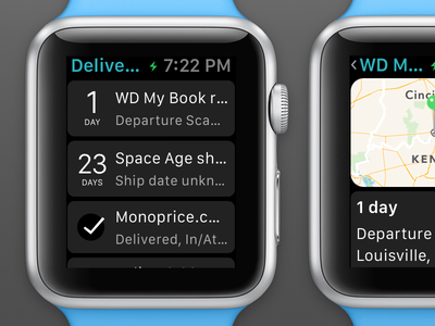 Deliveries for Apple Watch deliveries apple watch