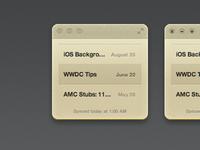Notefile for Mac take 2