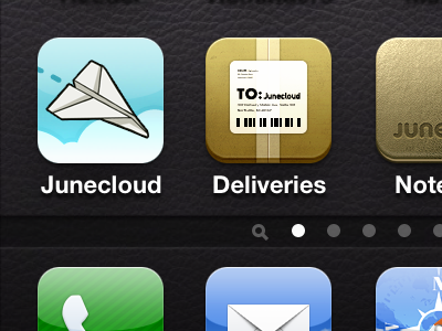 Apple Touch Icon junecloud iphone ios airplane
