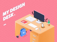 My design desk.