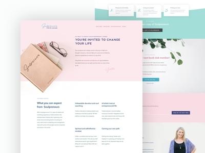Soulpreneurs Homepage
