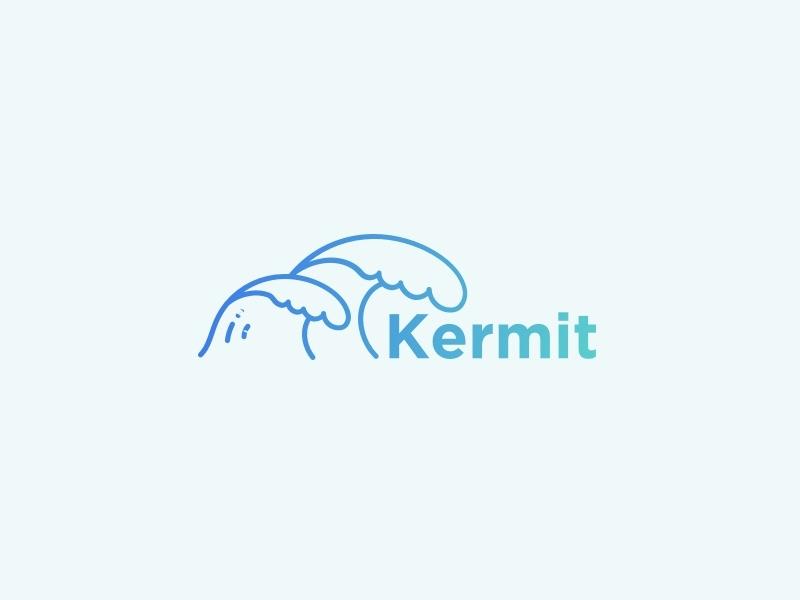 Kermit logo   dribbble