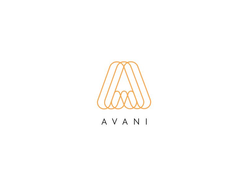 AVANI branding design logo