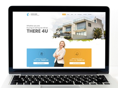 There4u Landing Page Design
