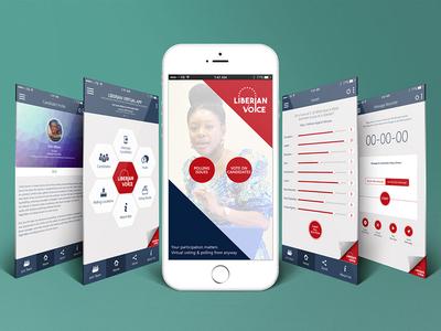 Liberian Voice Mobile App Design