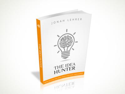 The Idea Hunter Book Cover Design