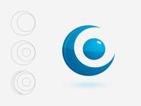 Connect 2 one logo Icon Design